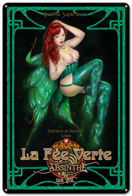 The Green Fairy Absinthe Uncensored
